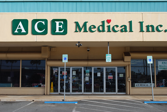 Ace Medical Store Front